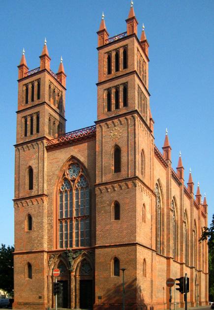Friedrichswerdersche Kirche von Karl Friedrich Schinkel